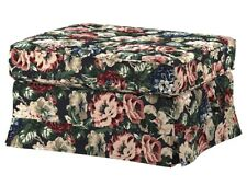 Ikea EKTORP LINGBO Footstool / Ottoman Slipcover Cover New