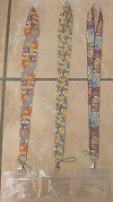 The Simpsons Lanyard / Neck Strap for Pin Trading inc. Waterproof Holder