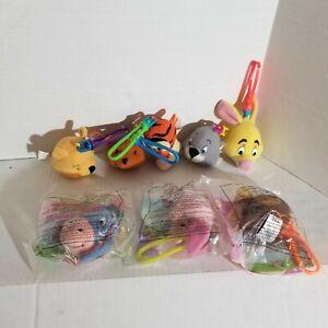 Winnie the Pooh McDonalds Happy Meal Toys - Disney - Set Of 8 Plush Clip