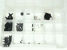 R/C Parts Lot Futaba Servo And More w/Case Most Of The Pieces Appear Unused