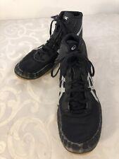 Asics Matflex 5 J504N Men Black Silver Wrestling Shoes Size 8