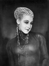 B&W Brigitte Helm Metropolis  Poster Print