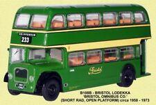 Bristol Lodekka LD1 SR - Bristol - Chippenham 1/76 British Bus