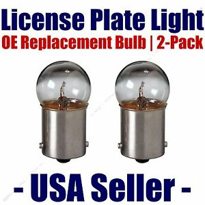 License Plate Bulb 2pk OE Replacement Fits - Listed Land Rover Vehicles - 5007
