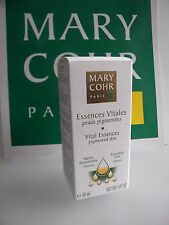 MARY COHR ESSENCES VITALES PEAUX PIGMENTEES VITAL ESSENCES PIGMENTED SKIN TACHES