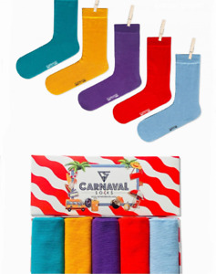 Pastel Socks Unisex Socks Style Colors Men Women Socks 5 Pairs In a Gift Box