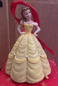 Disney Beauty & The Beast Belle Hanging Christmas Decoration - BNIB