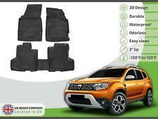 - 2x4 Rey Alfombrillas/® 2010-2014 PVC Cubeta Maletero Dacia Duster