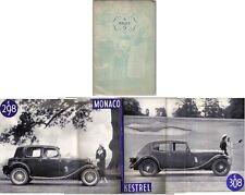 Riley Nine 9 Monaco & Kestrel 1934-35 Original UK Sales Brochure