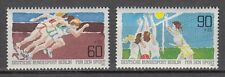 Germany Berlin 1981 ** Mi.664/65 Sporthilfe Sports Volleyball Sprint