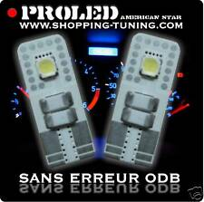2 VEILLEUSE LED SMD W5W ERREUR ODB PEUGEOT 107 207 307