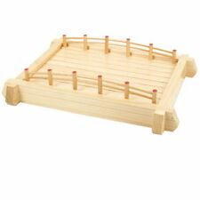 Wooden Sushi Bridge Serving Tray 22in WOBR57 S-3443