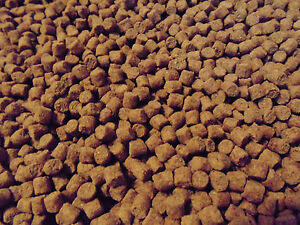 6mm sinking WHEATGERM pellets - pond fish food - 5KG bulk food - koi fish food