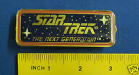 Star Trek Next Generation Logo Banner Pin Badge STPIN1012