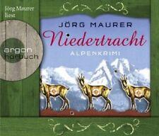 JÖRG MAURER - NIEDERTRACHT: ALPENKRIMI 5 CD HÖRBUCH KRIMI/THRILLER NEU