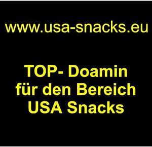 www.usa-snacks.eu Domainname Webadresse für US Lebensmittel & Snacks Domain