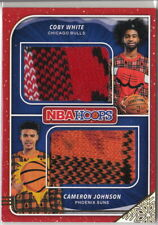 19/20 2019-20 Hoops Rookie Sweaters Dual #11 Cameron Johnson/Coby White