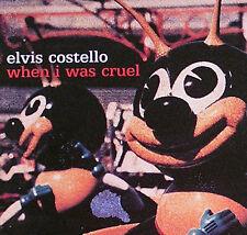Elvis Costello 2002 When I Was Cruel 2-Sided Promo Flat Original