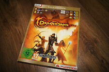 Drakensang gold edition pyramide pc old game  dvd disc 2x dvd-rom 2008