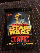 Star Wars NIP Package Of Pogs Caps 1995 1 Slammer In Package Topps