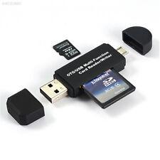 B248 7669 USB 2.0 Lettore di schede micro SD/TF per Cellulare Tablet Portatile Nero