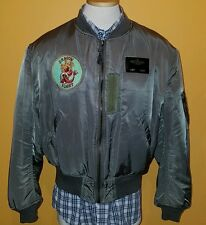 Vintage Avirex Bomber MA 1 Air Force USAF Jacket Men XL