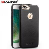 QIALINO Echt Leder Tasche Handyhülle für Apple iPhone 6S Case - Schwarz (33SC)