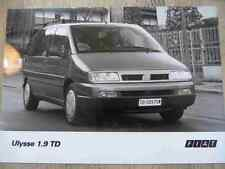Foto Fotografie photo photograph FIAT Ulysse 1.9 TD SR717