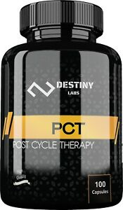 Destiny Labs PCT 100 Capsules Post Cycle TherapyAshwagandhaSaw Palmetto