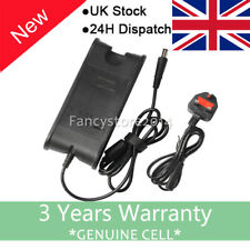Dell Inspiron 15 3000 5000 7000 Series 65w Laptop Power Supply Charger UK Cord F