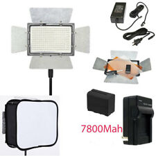 YONGNUO YN300 III LED Light 5500K PRO KIT W 2 Battery Softbox Charger AC adapter