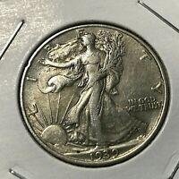 1939 SILVER WALKING LIBERTY HALF DOLLAR HIGH GRADE COIN