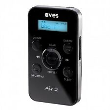 Aves Air 2 Handheld Portable Pocket Personal DAB DAB+ Digital Radio & FM Radio