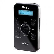 AVES AIR 2 PORTATILE TASCA personali DAB DAB + Radio Digitale e radio FM