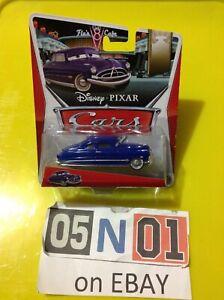 Disney Pixar Cars Diecast DOC HUDSON Silver Rims Radiator Springs 14/15 (FB02)