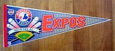 "Montreal Expos Baseball Pennant 1990's Wincraft 30"""