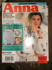 Anna - Burda Ouvrages Manuels N°11 1983 Patron Tricot avec coutures ajourées