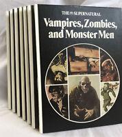 Vintage 1975 Lot of 7 / The Supernatural / The Danbury Press
