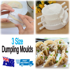 3Pcs Dumpling Maker Dumpling Press Pastie Cooking Baking Mold Wonton Tool