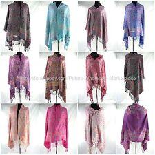 US Seller-10pcs Wholesale scarf wraps paisley vintage viscose pashmina scarf