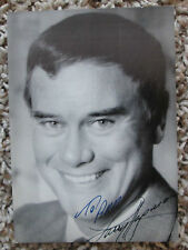 Larry Hagman Autograph Auto 3.5 x 5.5 Photo Huge Collection Rare Look