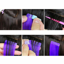 12 Tabs Precut Super Double Sided Tape Weft Tape-in Hair Extension Replacement