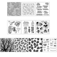 Sun Flower DIY Silicone Clear Stamp Cling Seal Scrapbook Embossing Album Decor