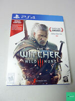 The Witcher 3 WILD HUNT -  PS4 with bonus soundtrack disc Playstation 4