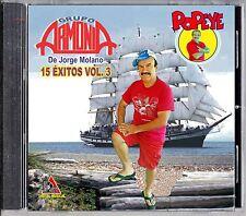 GRUPO ARMONIA de Jorge Molano ´´15 EXITOS VOL. 3´´ CD NEW
