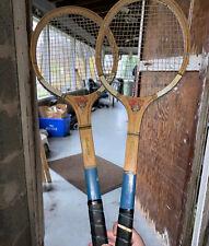 "Laminated Vintage Badmitten Racquet "" Contest "" 2 Racquets"
