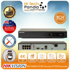 Hikvision DS-7608NI-K1/8P 8CH NVR Network Video Recorder