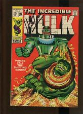 """HULK #113 1968 (7.5) SIGNED BY HERB TRIMPE """"WHERE FALL THE SHIFTING SANDS!!!!"""""""