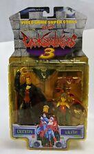 Dimitri Lilith Darkstalkers 3 Figure Toy Biz Dracula Vampire Capcom Succubus MoC