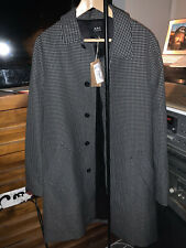 a.p.c Mens Mac Blue Navy never worn brand new with tags SIZE XL APC apc
